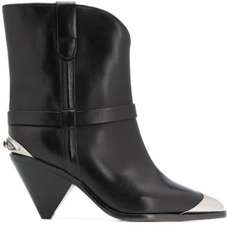 Isabel Marant Lamsy metal-insert boots