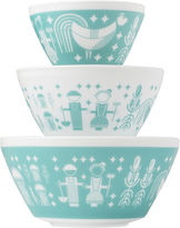 Pyrex Vintage Charm Inspired by Rise N Shine 3-pc. Mixing Bowl Set