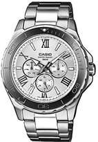 Casio Men's MTD1075D-7AV Stainless-Steel Analog Quartz Watch