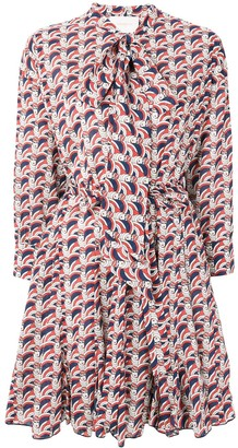 La DoubleJ Short Printed Shirt Dress