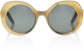 Lapima Carlota Light Horn Sunglasses
