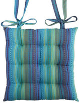 Pier 1 Imports Striped Cool Blue Dining Chair Cushion