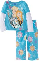 Disney Princess Girl's 2-6X Toddler Frozen Cozy Pajama Set