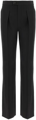 Chloé High-Waist Pleated Pants