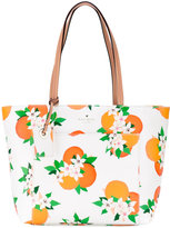Kate Spade floral print tote - women - Leather - One Size
