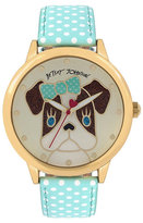 Betsey Johnson Pretty Puppy Love Watch