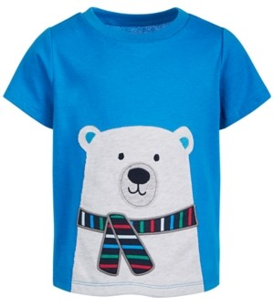 First Impressions Baby Boys Polar Bear Cotton T-Shirt, Created for Macy's