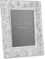 Monique Lhuillier Waterford 'Sunday Rose' Lead Crystal Picture Frame