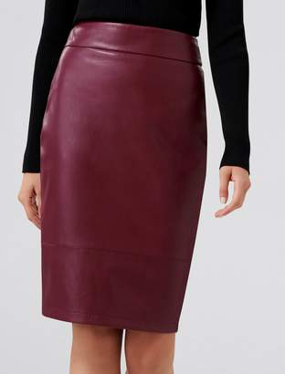 Ever New Amy PU Pencil Skirt