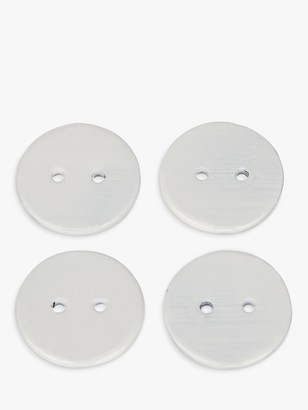 John Lewis & Partners Coated Lead Curtain Weights, Set of 4