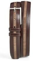 Mezlan Men's Leather & Suede Belt