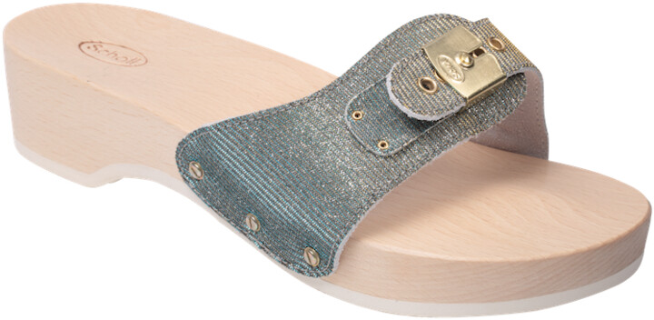 Thumbnail for your product : Margaux Silver Scholl Sandals - 6/39