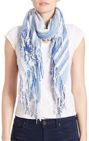 Collection 18 Striped Square Scarf