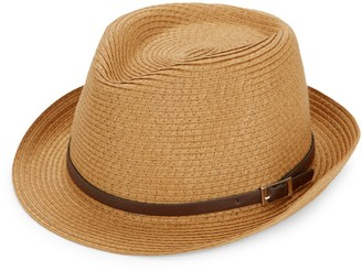 Saks Fifth Avenue Straw Fedora