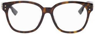 Christian Dior Tortoiseshell DiorCD1F Glasses