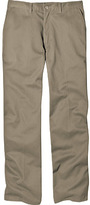 """Dickies Men's Relaxed Fit Cotton Flat Front Pant 34"""" Inseam"""