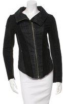 Helmut Lang Leather-Paneled Jacket
