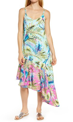 Tommy Bahama Sunkissed Asymmetrical Cover-Up Dress