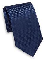 Saks Fifth Avenue Pindot Silk Tie