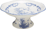 One Kings Lane Carlin Compote - Blue/Ivory