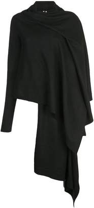 Rick Owens oversized wrap cardigan