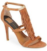 Dolce Vita Michelle Fringed Suede Sandals