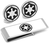 Star Wars Silver-Plated Imperial Empire Cufflinks and Money Clip Gift Set