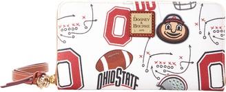Dooney & Bourke NCAA Ohio State Large Zip Around Wristlet