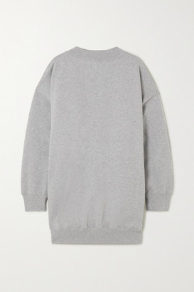 Balenciaga Cristobal Oversized Cotton-jersey Sweatshirt - Gray