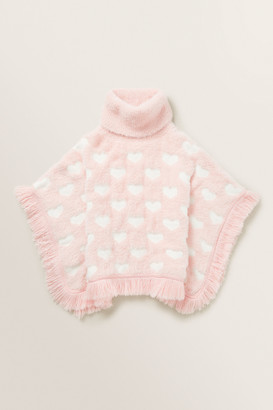 Seed Heritage Fluffy Knit Poncho