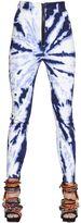 DSQUARED2 Tie Dyed Stretch Cotton Denim Jeans