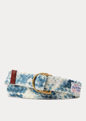 Ralph Lauren Braided Cotton Belt