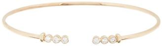 Meira T 14K Yellow Gold Floating Diamond Cuff Bracelet