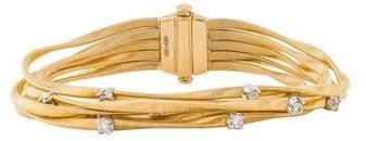 Marco Bicego 18K Diamond Cario Multistrand Bracelet