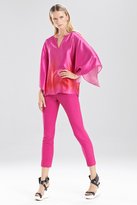 Josie Natori Resort Texture Pants