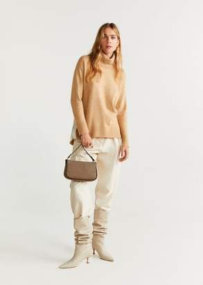 MANGO Contrast band sweater
