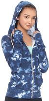 Juniors' SO® Colorblock Zip Up Hoodie
