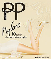 Pretty Polly Gloss Secret Slimmer Reinforced Toe Tights