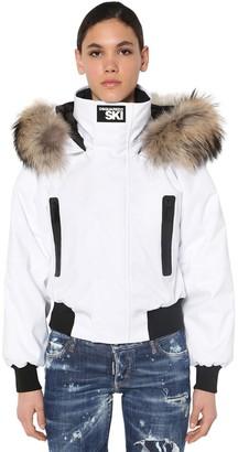 DSQUARED2 Short Nylon Down Jacket