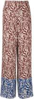 SOLACE London Nevya animal print trousers