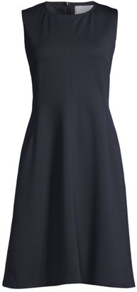 HUGO BOSS Dandrow Spongy Jersey A-Line Dress