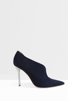 Malone Souliers Crystal Heeled Boot Suede