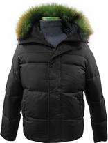 Levi's Men's Fur Trim Hooded Winter Jacket