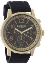 City Beach Lucid Polaris Black/Gold Watch
