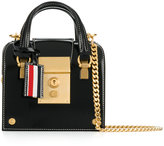 Thom Browne Mrs. Thom Tiny with Chain Shoulder Strap in Calf Leather