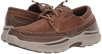 Skechers Relaxed Fit Expended - Menson (Desert Brown) Men's Shoes