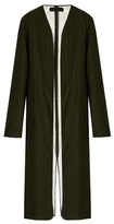 Haider Ackermann Proud collarless quilted-wool coat