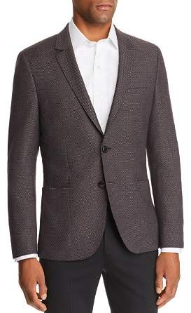 HUGO Arti Birdseye Slim Fit Sport Coat