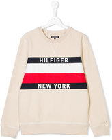 Tommy Hilfiger Junior Teen logo print sweatshirt
