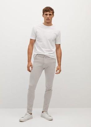 MANGO MAN - Skinny color Billy jeans grey - 28 - Men